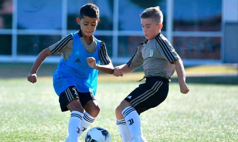 Hijo de Cristiano Ronaldo ya firmó y entrena en la cantera de la Juventus