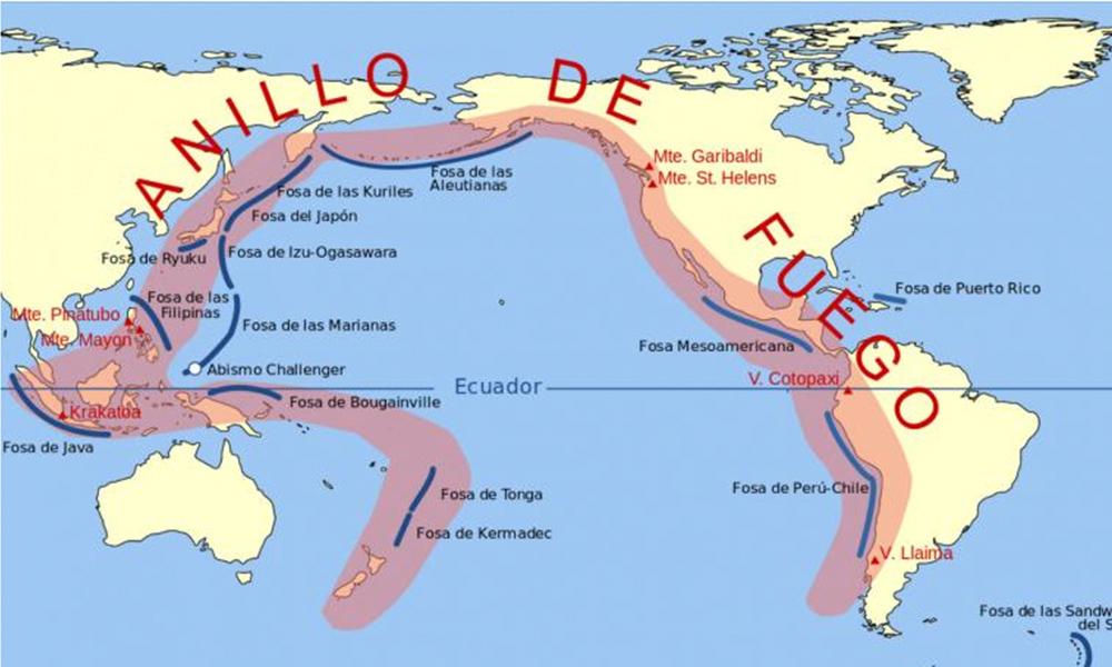 Crece pánico al Big One tras la ola de terremotos en el Cinturón de Fuego