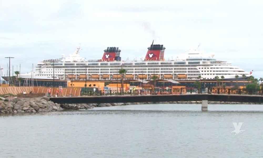 Crucero de Disney Wonder incrementa arribos a Ensenada