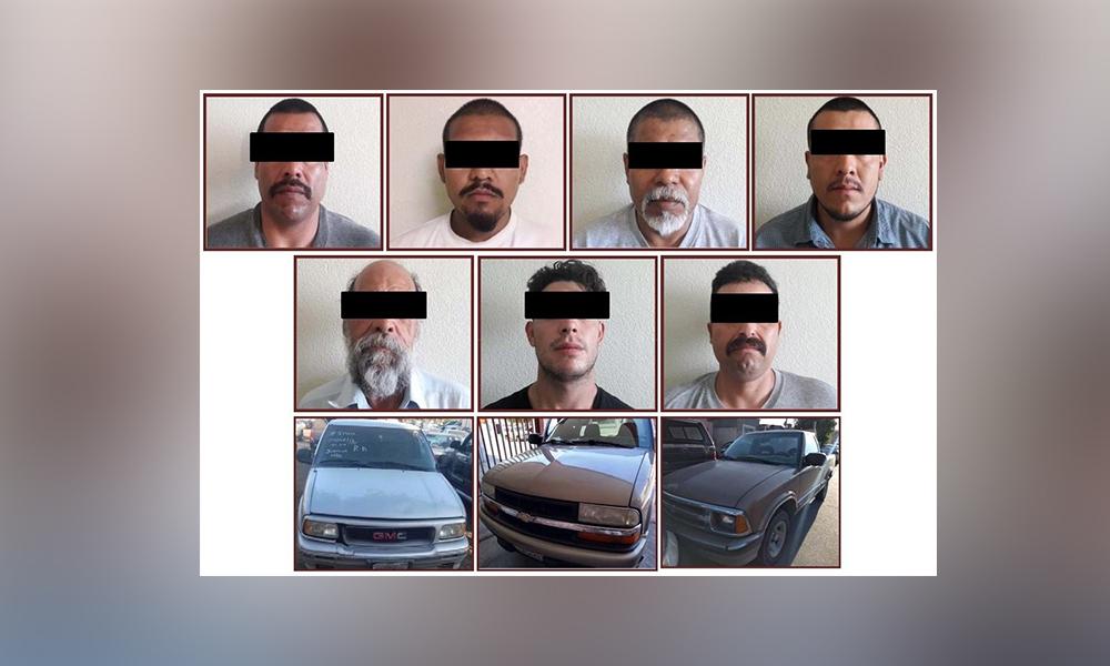 Cumplimenta 7 órdenes de aprehensión y recuperan 3 vehículos robados en Tecate