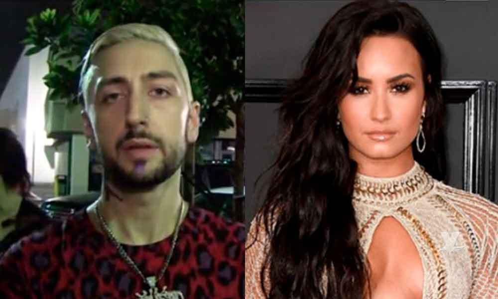 """""""Dealer y novio"""" de Demi Lovato le advirtió sobre las drogas"""