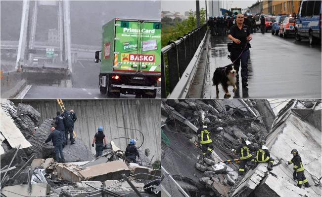 Derrumbe de un puente en una autopista de Génova: Deja al menos 35 muertos