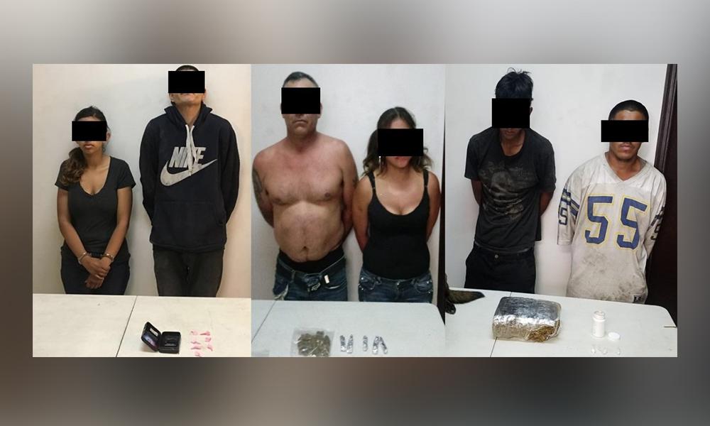 Detienen a seis sujetos en diversos cateos en Tijuana