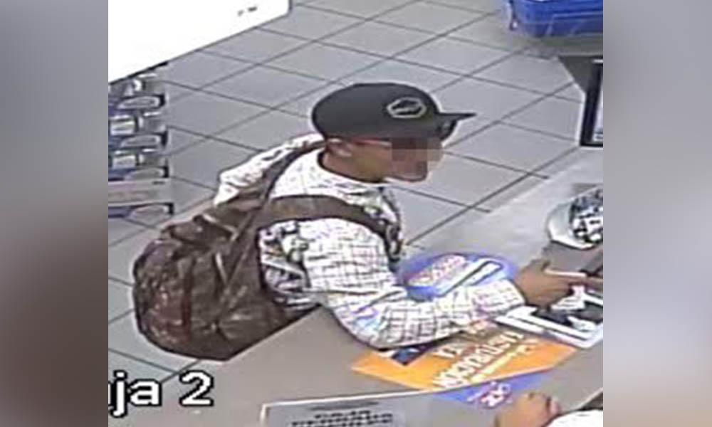 Detienen a sujeto tras asaltar un farmacia, tras oprimir botón de pánico en Tijuana