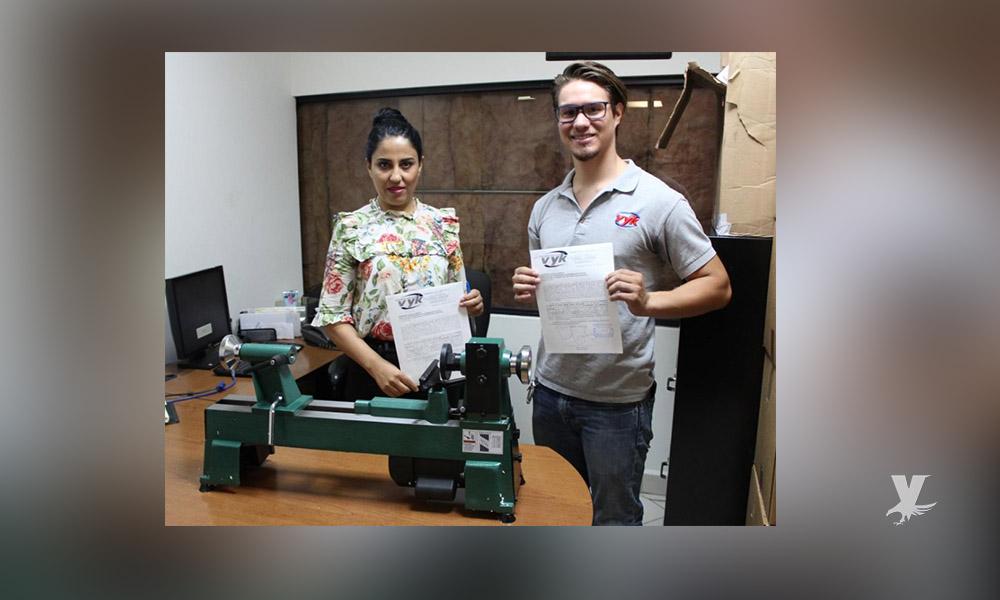 Donan equipo industrial al Cereso del Hongo II en Tecate