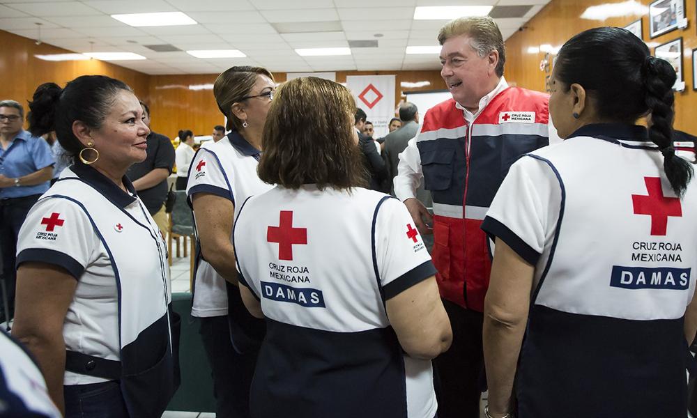 Entrega Gobierno del Estado apoyo de más de 1 millón de pesos para la Cruz Roja  de Tijuana