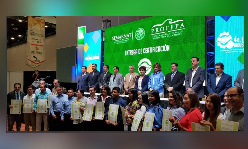 Entrega Profepa 26 certificados de Industria Limpia en Baja California