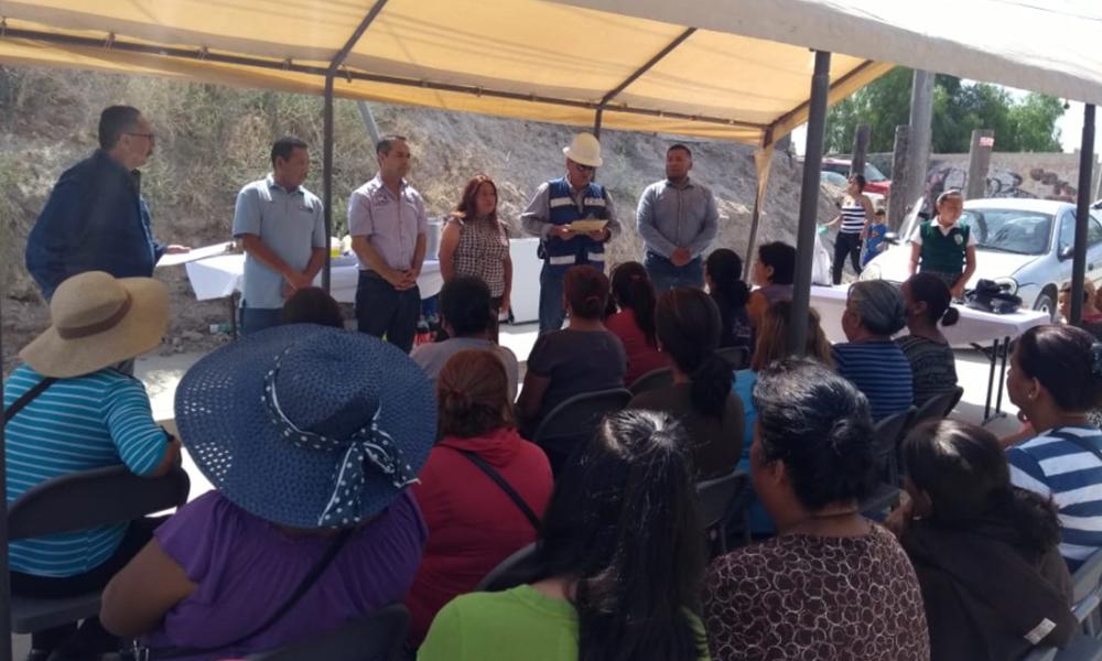 Entregan obras de pavimentación de calles con una inversión de más de 2 mdp en Tijuana