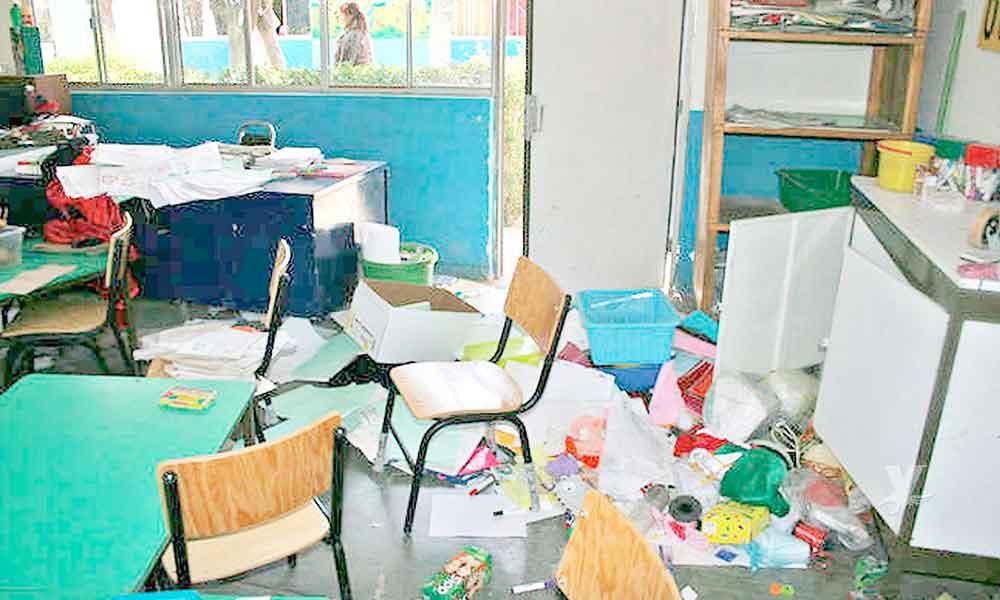 13 escuelas sufrieron robos estas vacaciones en Tecate