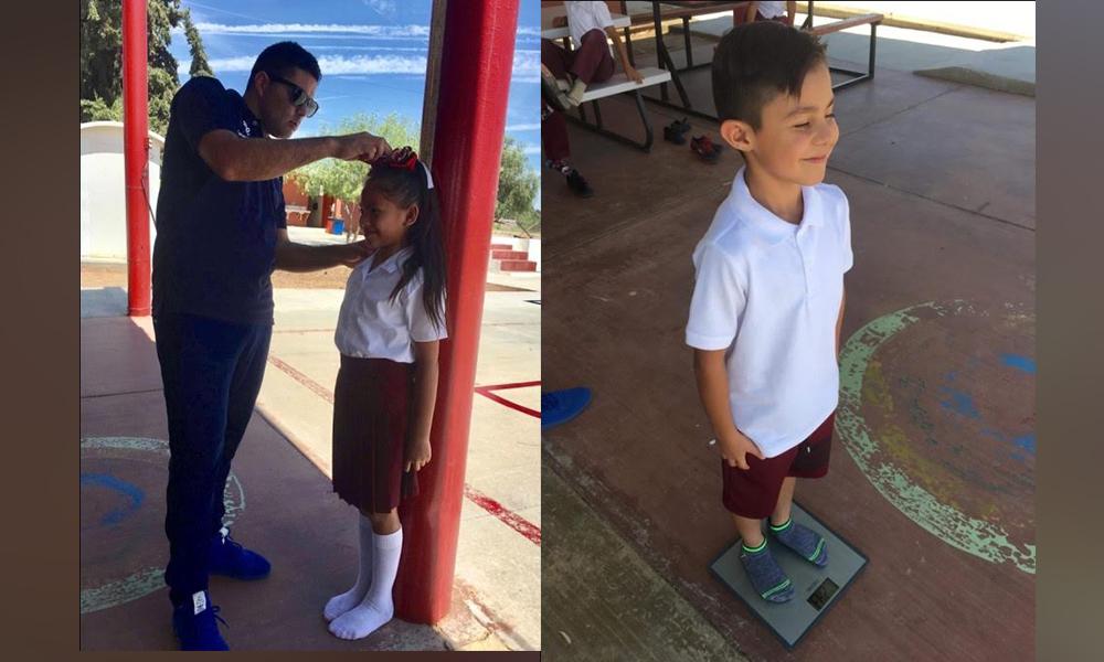 Evalúan índice de Masa Muscular de alumnos de Educación Básica en Tecate