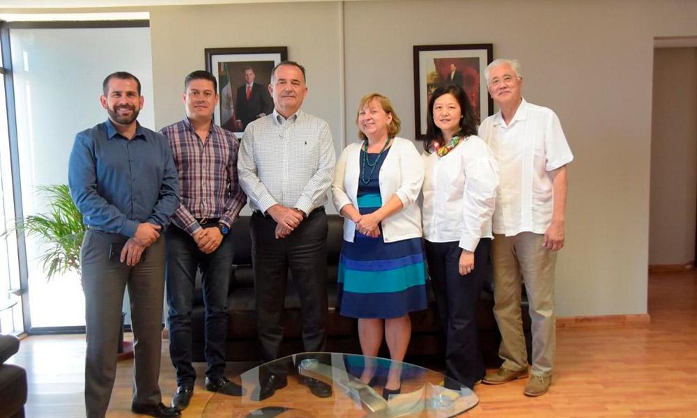 Exitoso encuentro entre Cónsul general de Estados Unidos y alcalde Marco Novelo  en Tijuana