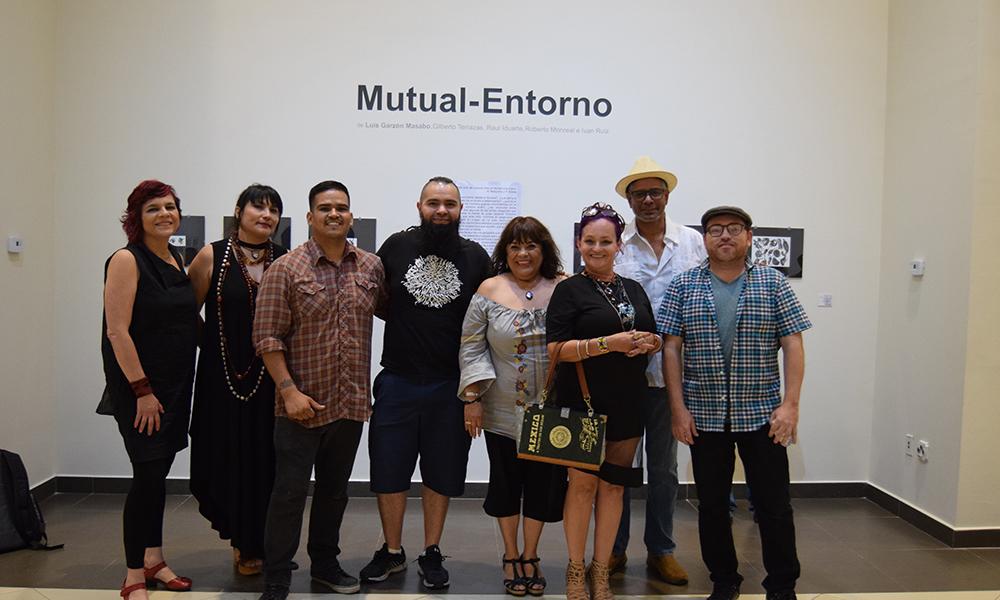 Expone Luis Garzón Masabo Mutal-Entorno en CEART Tecate