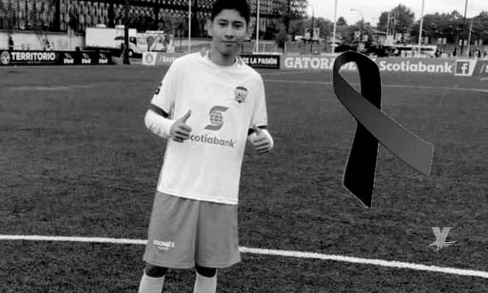 Promesa del futbol mexicano es asesinado junto a su madre después de un partido