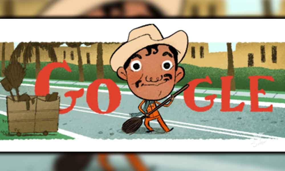 """Google rindió tributo a Cantinflas con """"doodle"""" de algunos de sus personajes"""
