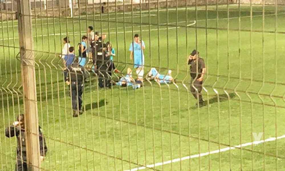 Comando armado dispara en contra de equipo de futbol en Guadalajara, reportan 4 lesionados