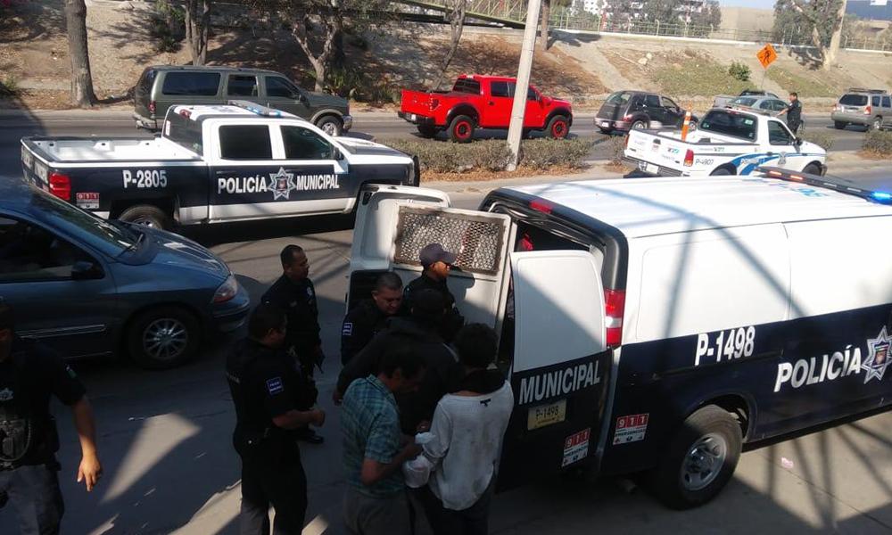 Implementan operativo en inmediaciones de garitas internacionales de Tijuana