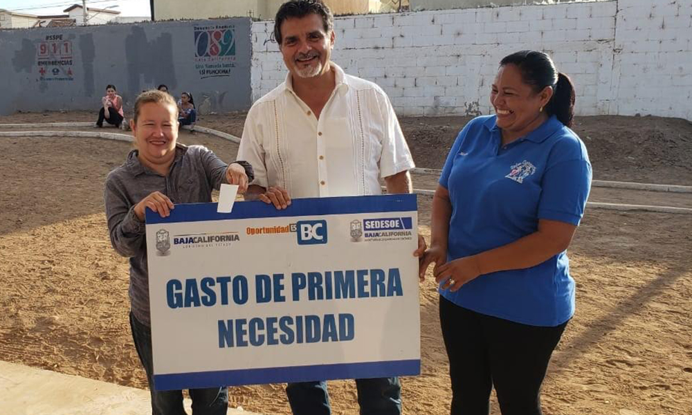 Impulsan programas que ayudan a familias en situación vulnerable en Ensenada