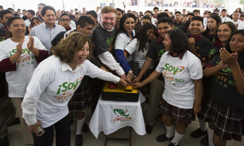 Inauguran oficialmente el Ciclo Escolar 2018-2 del CECyTE en Tijuana