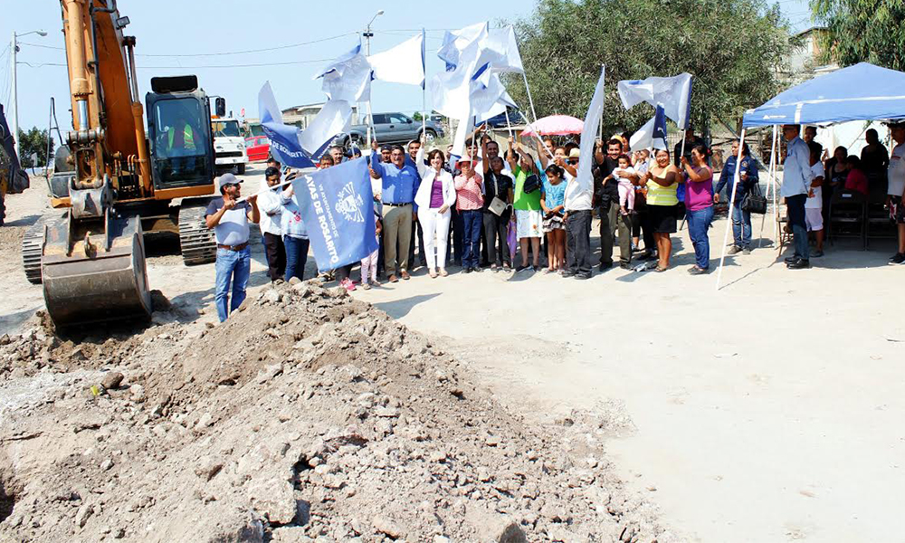 Inauguran histórica obra de introducción de agua potable en Playas de Rosarito
