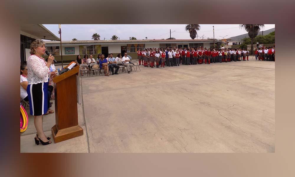Da inicio el Ciclo Escolar 2018-2019 de educación básica en Ensenada