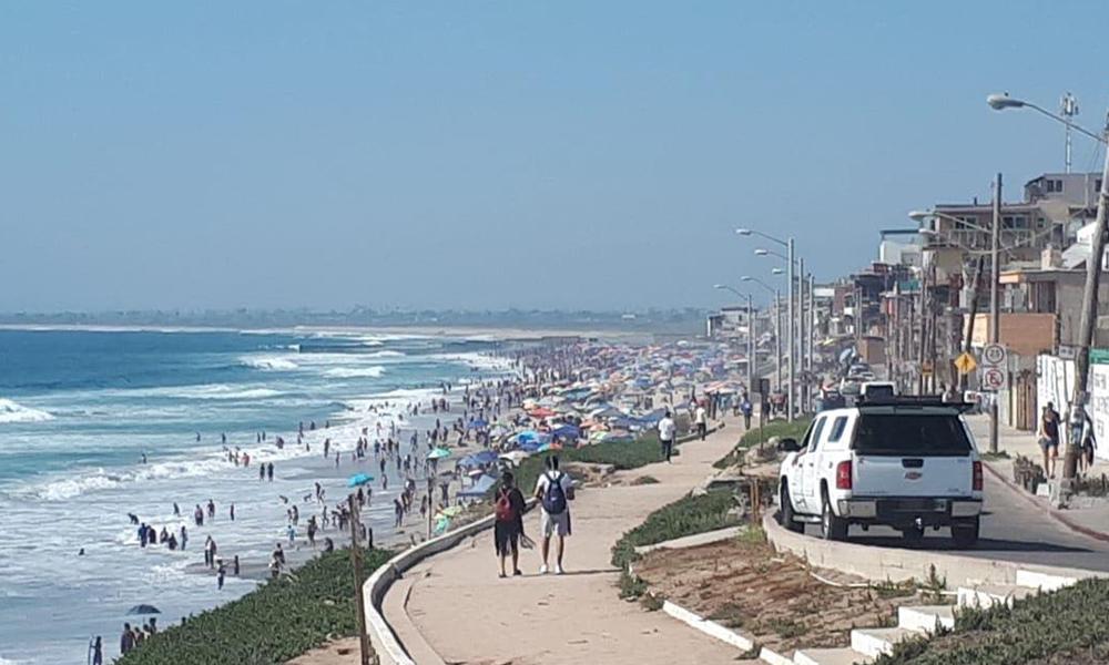 Intensifican actividades salvavidas en Playas de Tijuana