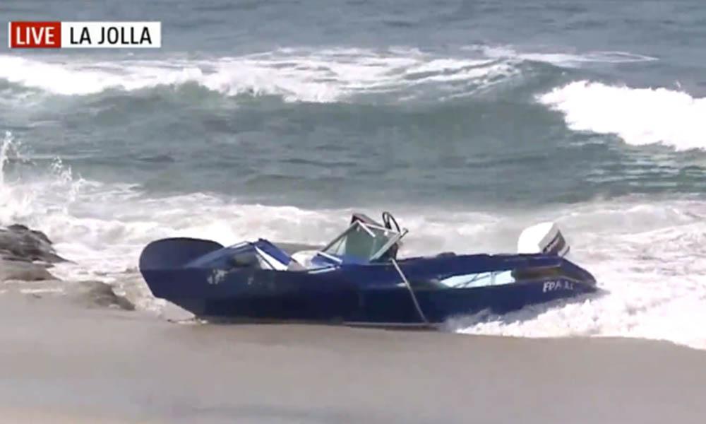 Investigan misteriosa panga que llegó a la costa de San Diego