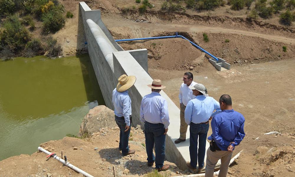 Invierten 9.5 mdp en construcción de obras para recarga de acuíferos en Ensenada