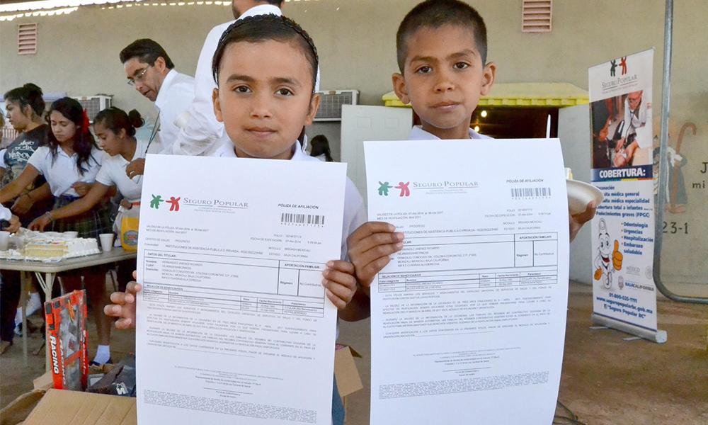 Invierten en salud para niños desde su nacimiento hasta los cinco años en Baja California