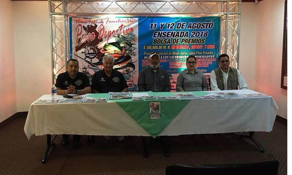 Invitan al Décimo Torneo de Pesca Deportiva en Ensenada
