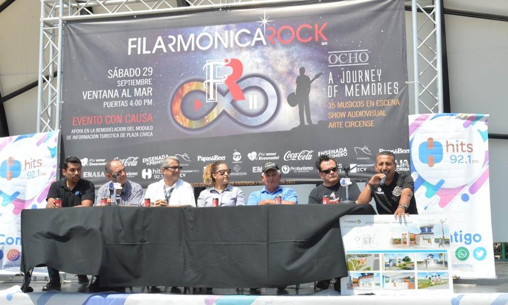 Invitan al magno festival músical de Filarmonica Rock en Ensenada