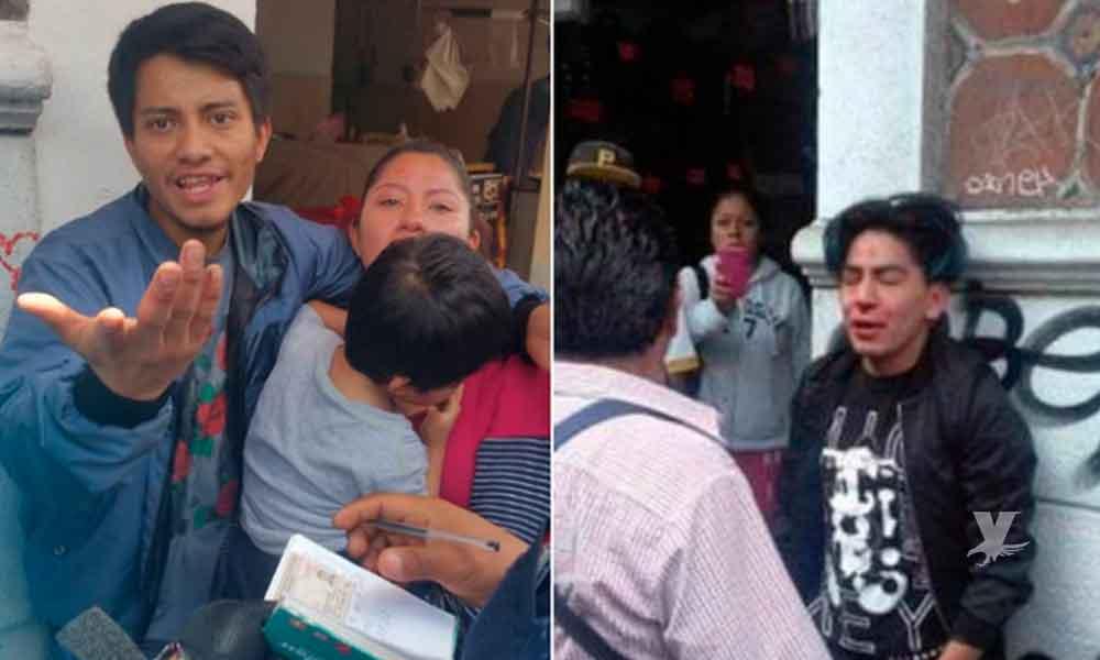(VIDEO) Joven ayudó a mujer a rescatar a su hijo de un secuestrador, él termino acusado por la mujer