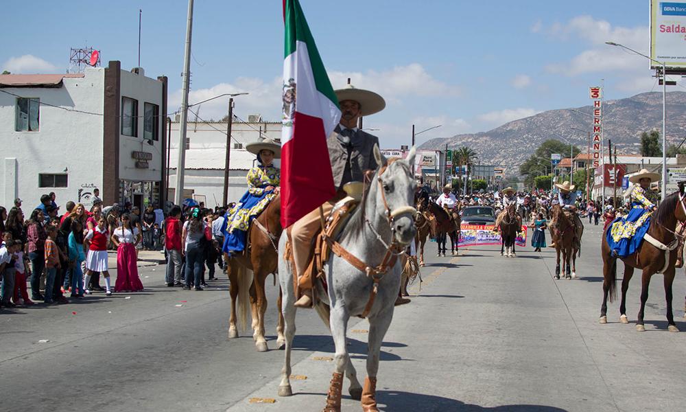 Lanzan convocatoria para participar en el desfile de Independencia en Tecate
