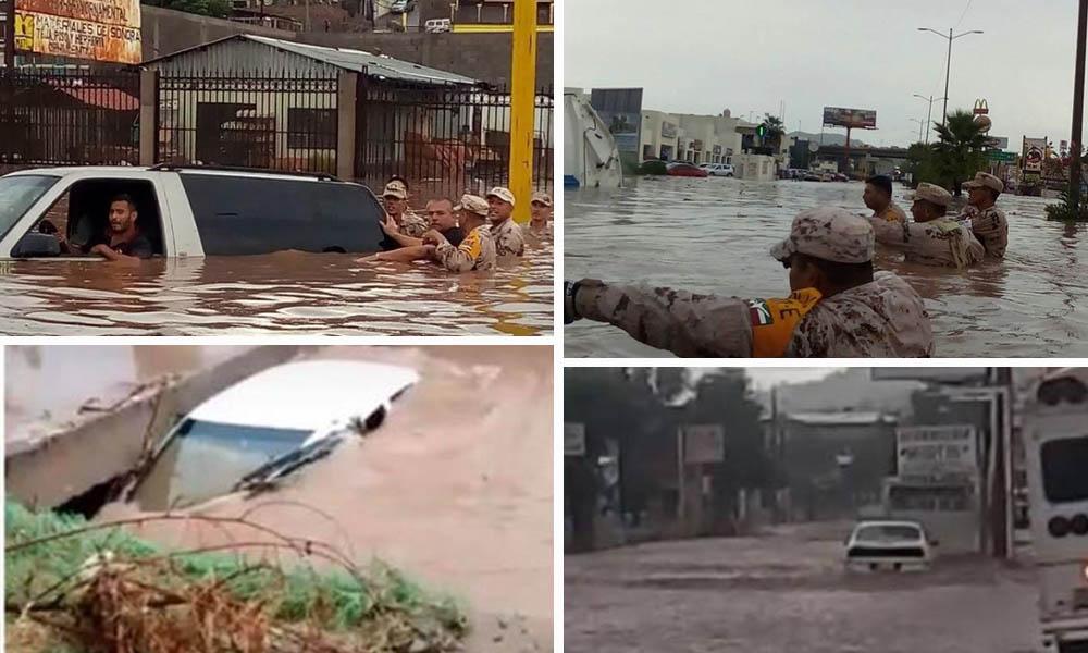 Lluvias en Sonora causan muerte de mujer e inundaciones
