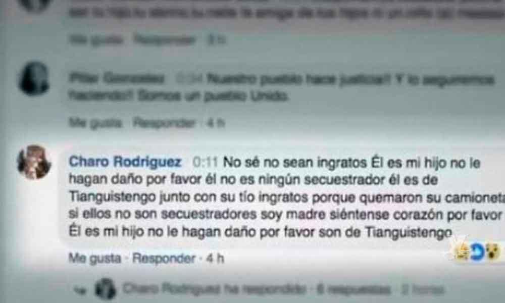Madre vio por Facebook Live el momento en que lincharon y quemaron a su hijo en Puebla