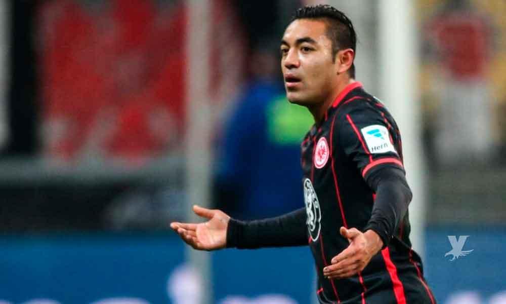Eintracht Frankfurt le dice a Marco Fabián que busque un equipo en el que pueda jugar