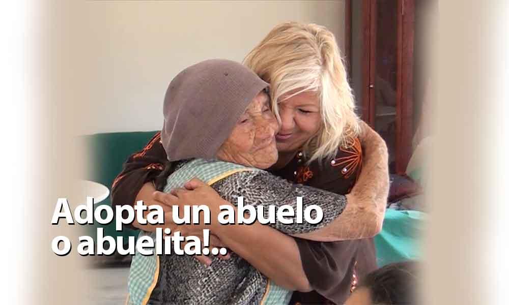 Invita Marina Calderón a que adoptes un abuelo o abuelita en Tecate