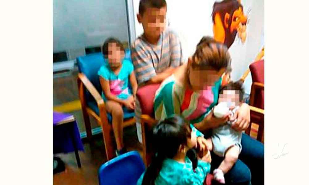 Autoridades detectan vía redes sociales a mujer que maltrató a su hijo en Tijuana, fue detenida
