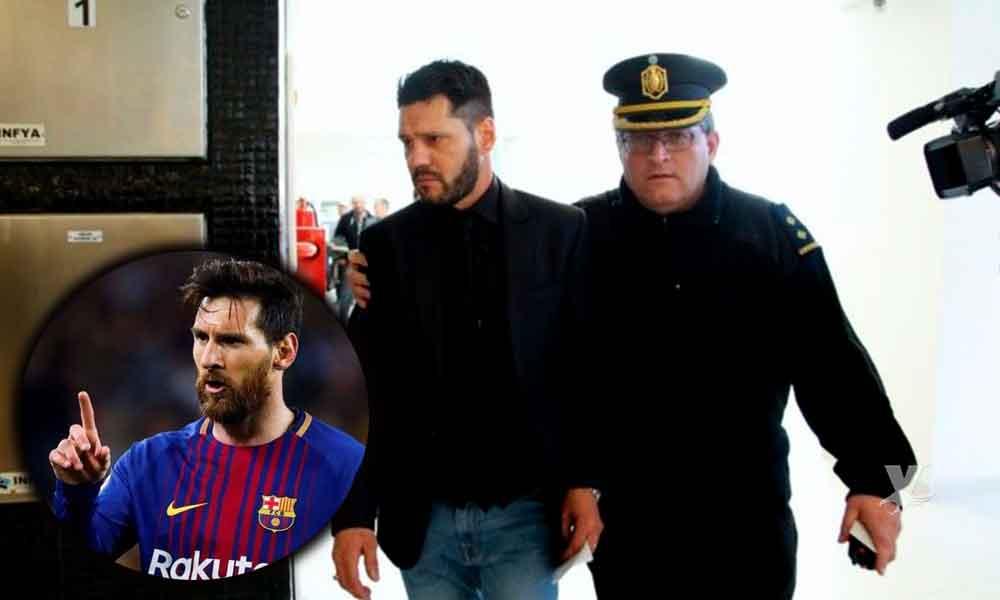 Hermano de Lionel Messi a prisión por portación de arma de fuego