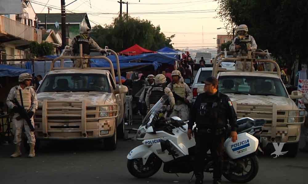 Militares portarán cámaras corporales para grabar su actuar en Tijuana