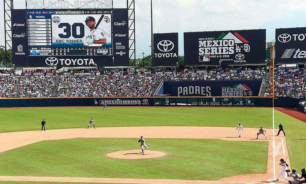 MLB anuncia que regresaran a Monterrey en 2019, pero ahora con tres series de beisbol