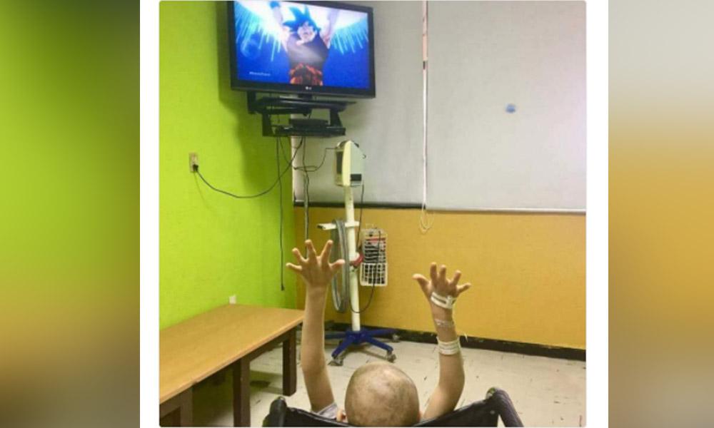 """Muere víctima de cáncer el pequeño """"saiyayin"""" que apoyó a Gokú"""