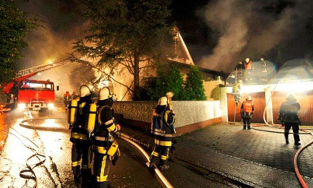 Mueren 9 niños y otros resultaron lesionados tras incendio en una pijamada