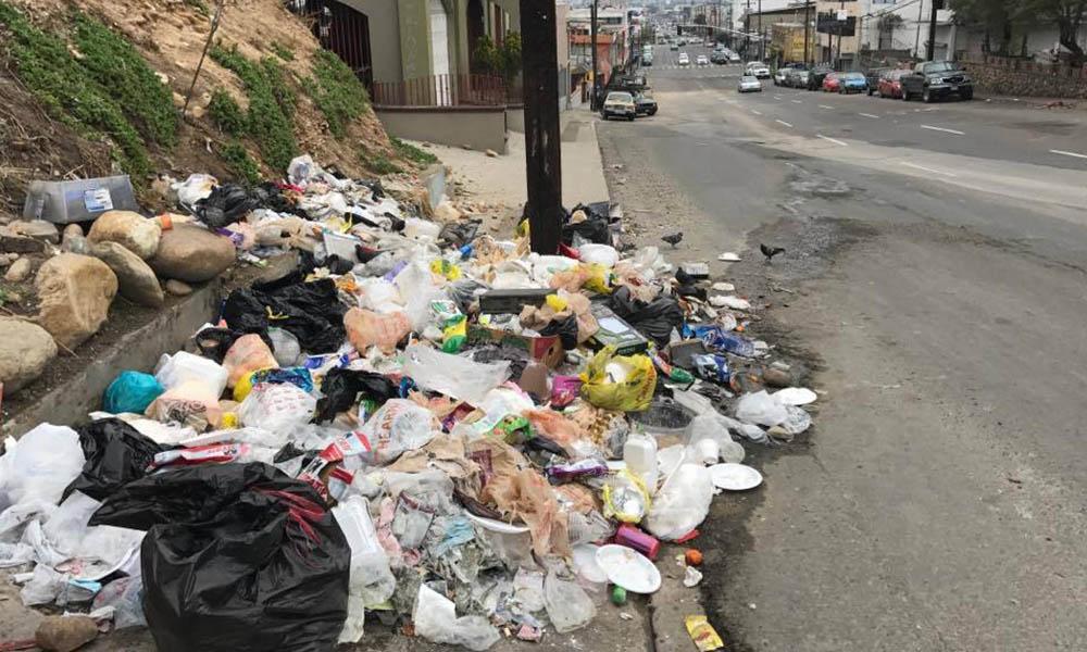 Multarán hasta con 2 mil pesos a quien tire basura en Tijuana