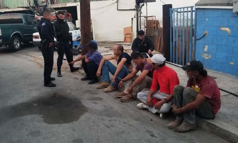 Realizan operativo en Lomas del Rubí, 15 personas son detenidas