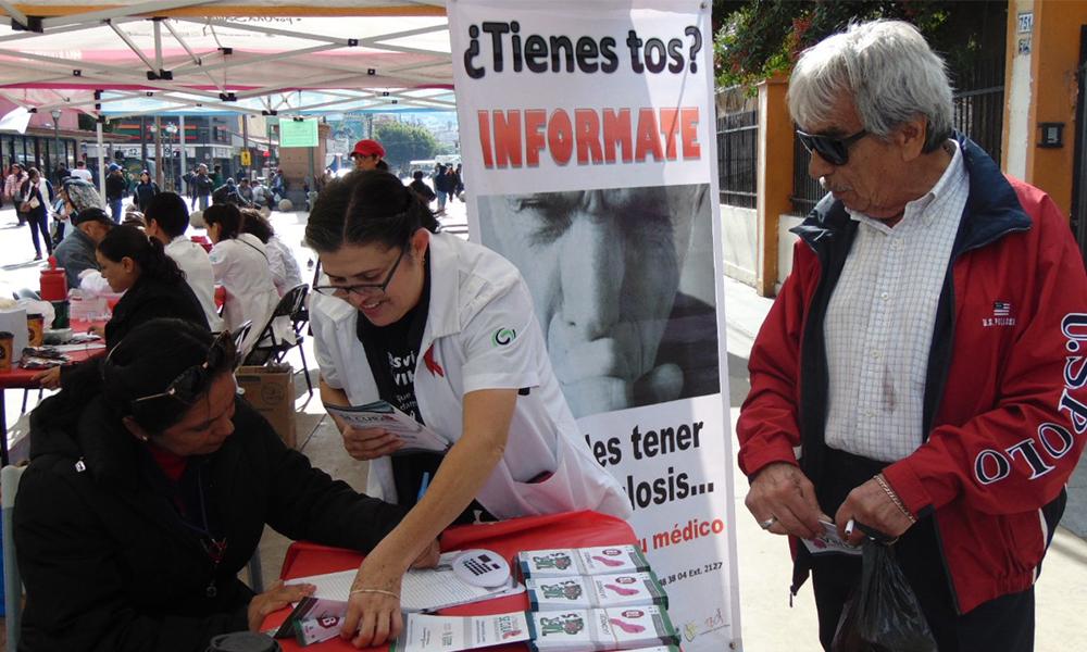 Otorgan tratamiento contra la tuberculosis pulmonar gratuito en Baja California