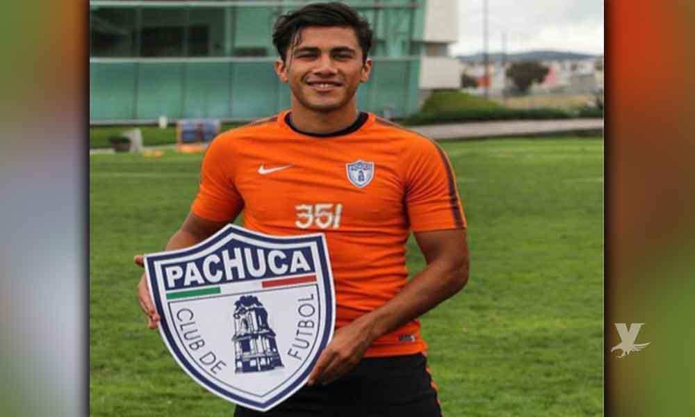 Manuel Rodelo jugador tecatense que cumplió su sueño y ahora juega con los Tuzos del Pachuca