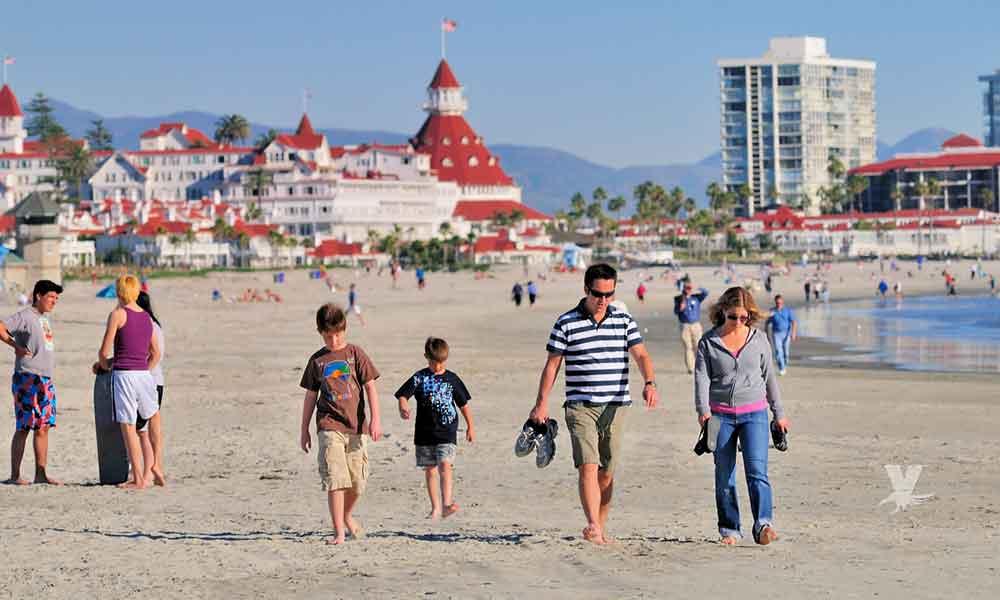 San Diego espera altas temperaturas, marea baja y humedad durante la semana