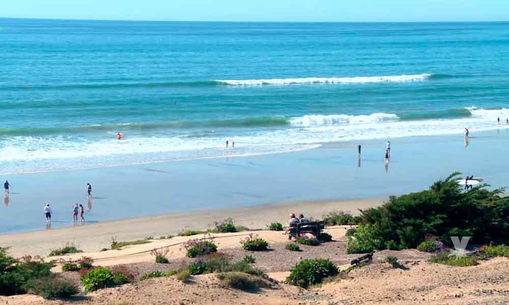Alertan grave peligro por altas mareas en playas de San Diego
