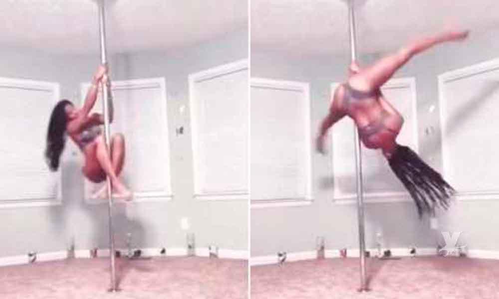"""(VIDEO) Maestra es suspendida de una primaria por practicar """"Pole Dance"""""""