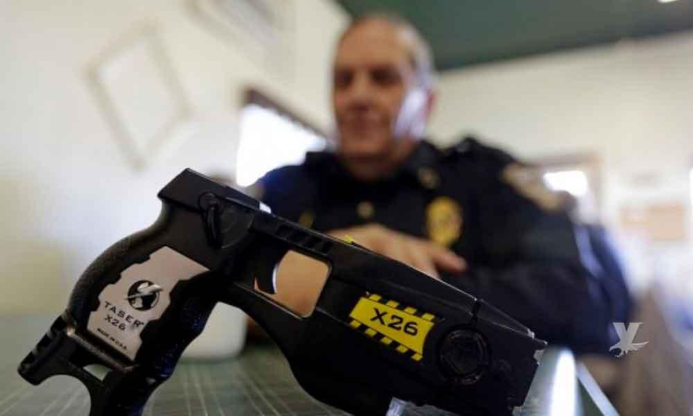 Policía usa pistola de electrochoques contra niña de 11 años
